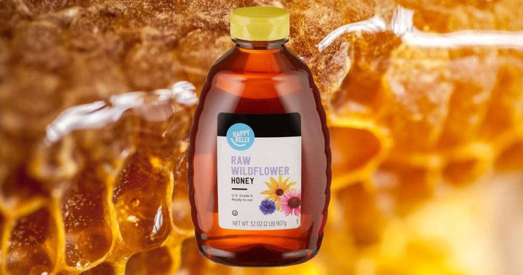 Happy Belly Raw Wildflower Honey