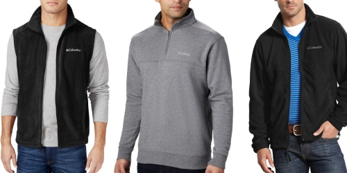 Columbia Men's Fleece Pullovers from $11.96 on Macys.com (Regularly $60)