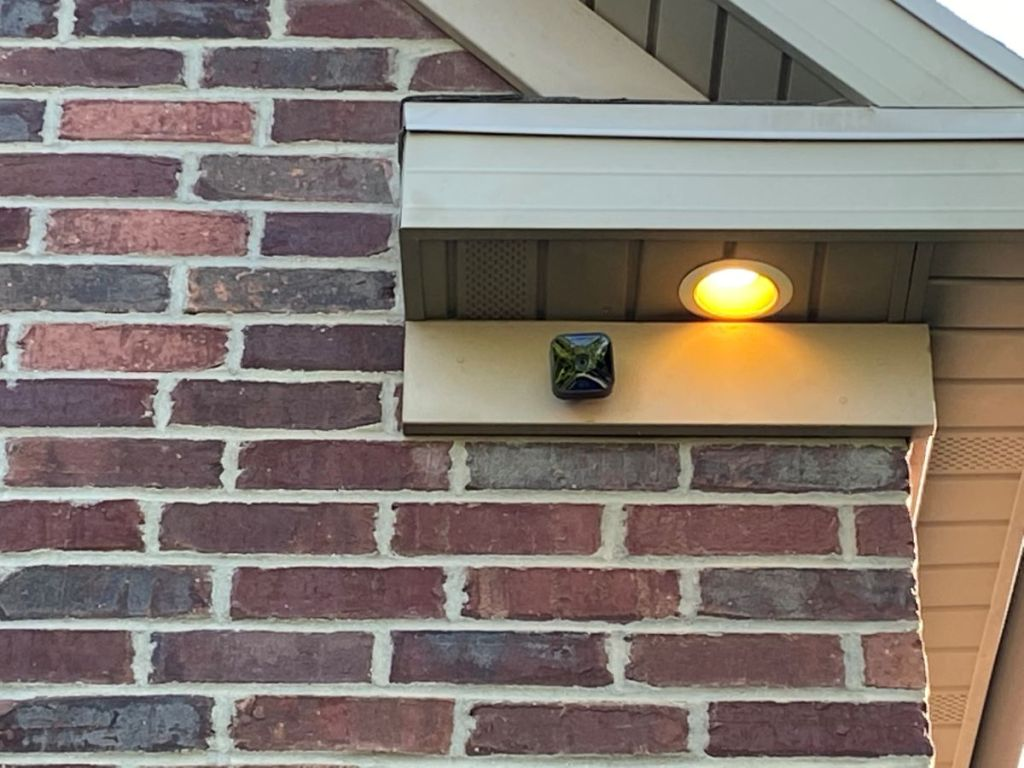 Blink Security Camera on a house