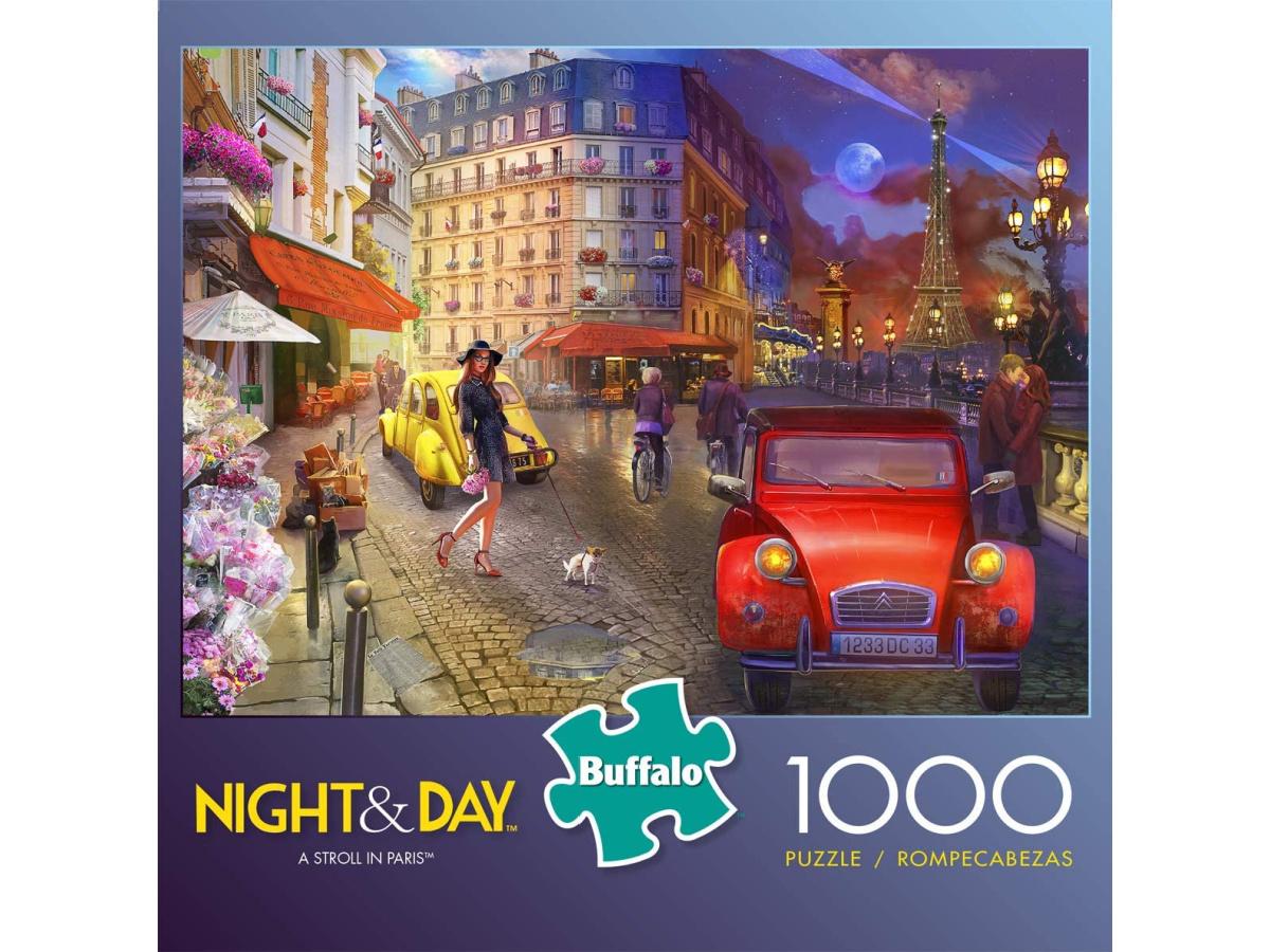 Buffalo Games A Stroll in Paris Jigsaw Puzzle box