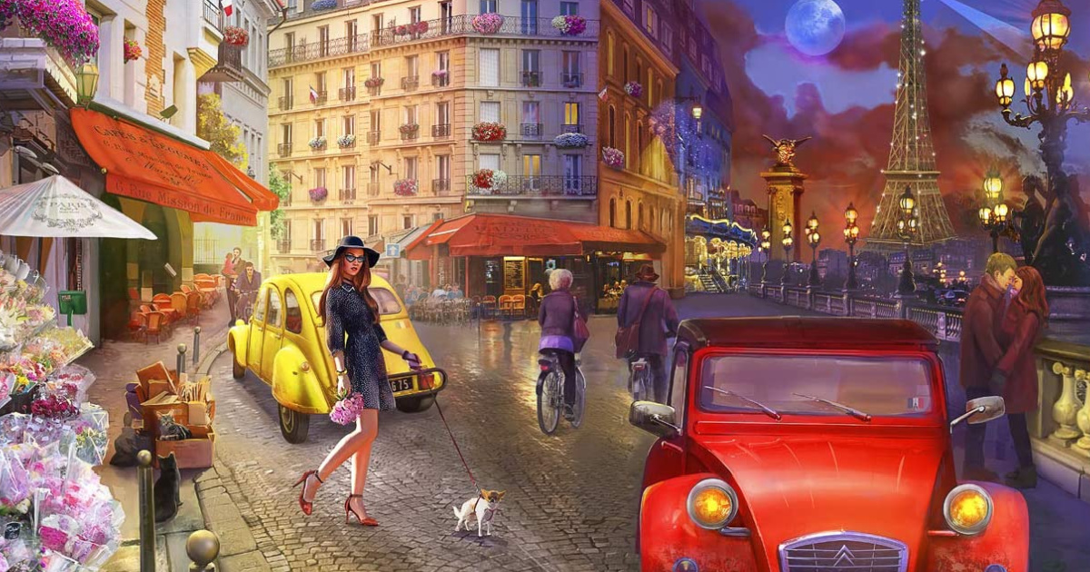 Buffalo Games A Stroll in Paris Jigsaw Puzzle