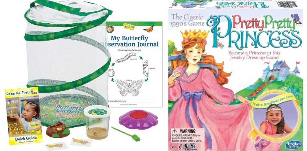 Butterfly Kit and Pretty Pretty Princess Game