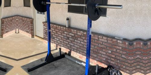 CAP Barbell Power Rack Exercise Stand Only $82.93 Shipped on Amazon (Regularly $169)