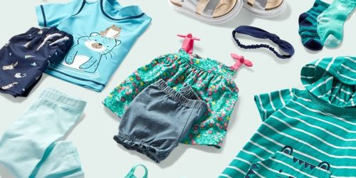Up to 70% Off Carter's Clearance Apparel | $5 Rompers, Leggings from $3 & More