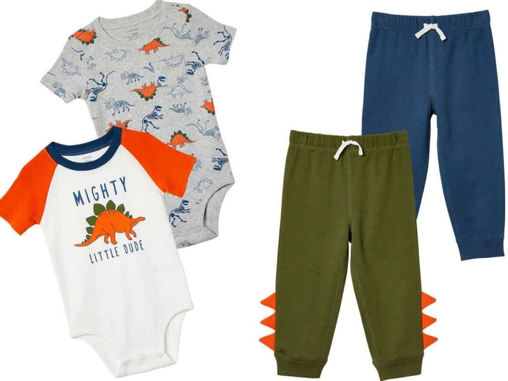 Carters Baby 4-piece Clothing Set