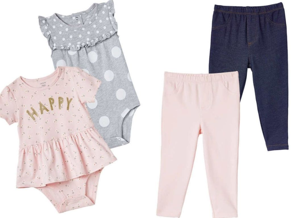 Carters Baby 4-piece Set of clothing