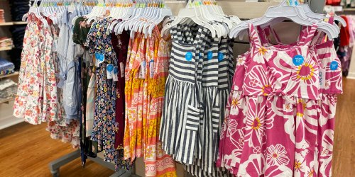 Carter's Doorbuster Deals   Tees from $2.79, Flip Flops Only $3, Dresses from $6.99 & More