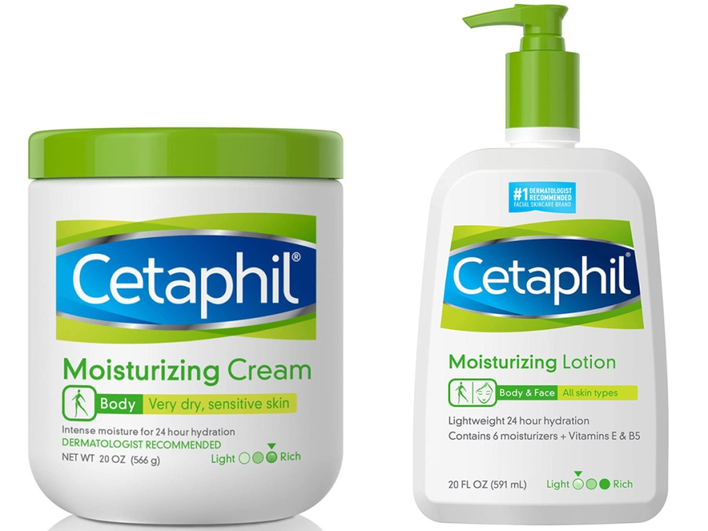 cetaphil lotion and cream