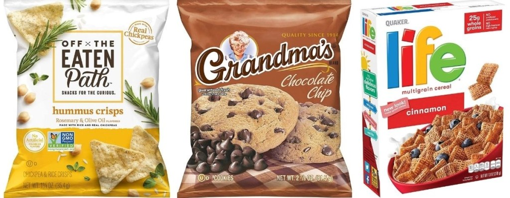 Chips, Cookie and Cereal