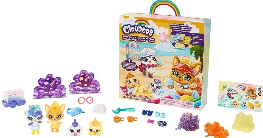 Cloudees Beach Party toys and accessories