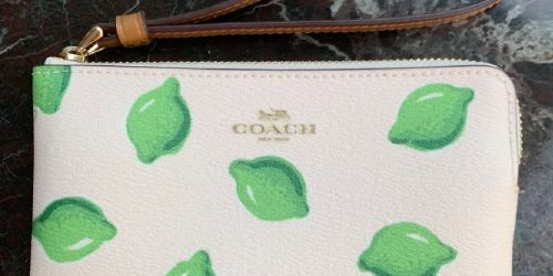 Coach Wristlets Only $29 Shipped (Regularly $78)