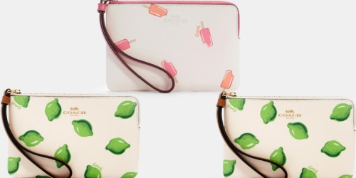 Coach Wristlets Only $29 Shipped (Regularly $78) + Up to 70% Off Purses