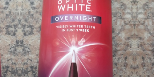 Colgate Optic White Overnight Teeth Whitening Pen Only $16 Shipped for Amazon Prime Members (Regularly $25)