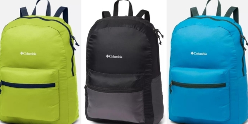 Columbia Packable Backpacks Only $11.98 Shipped (Regularly $30)