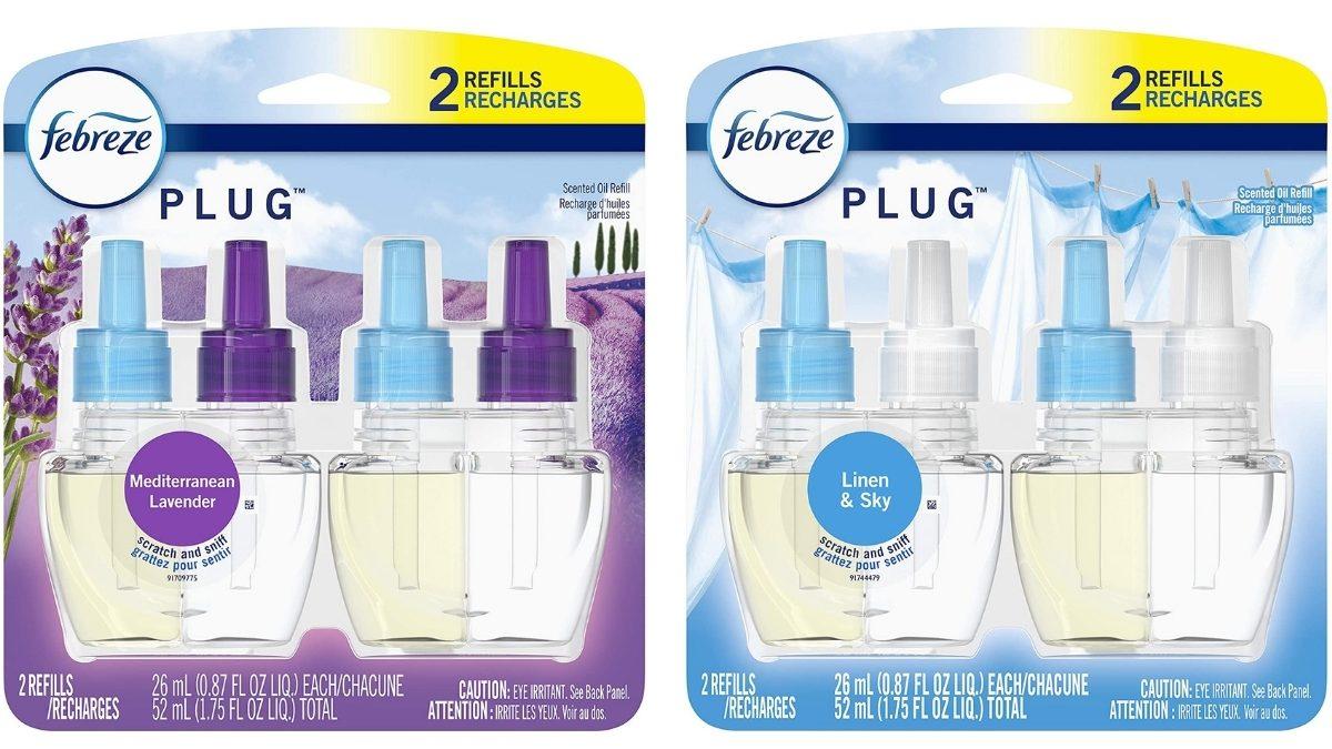 fabreeze air fresheners in packaging