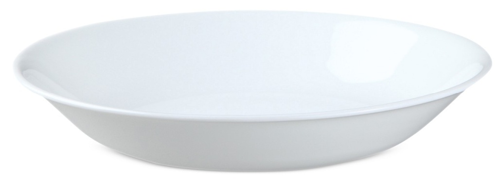 large all white bowl