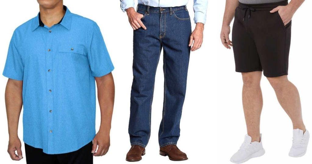 Costco Men's Shirt, Pants and Shorts