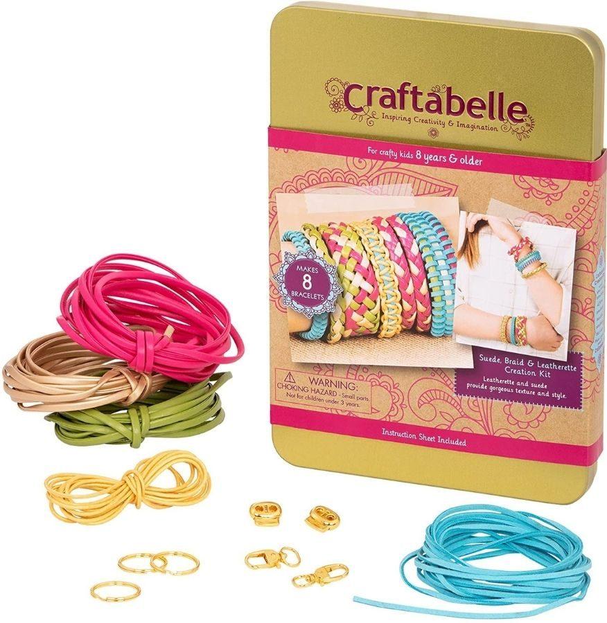 Craftabelle Leather Bracelet Set