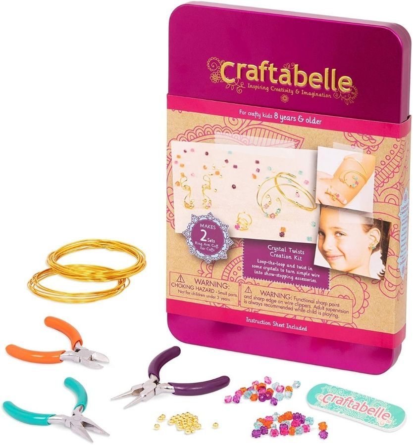 Craftabelle wire jewelry making set