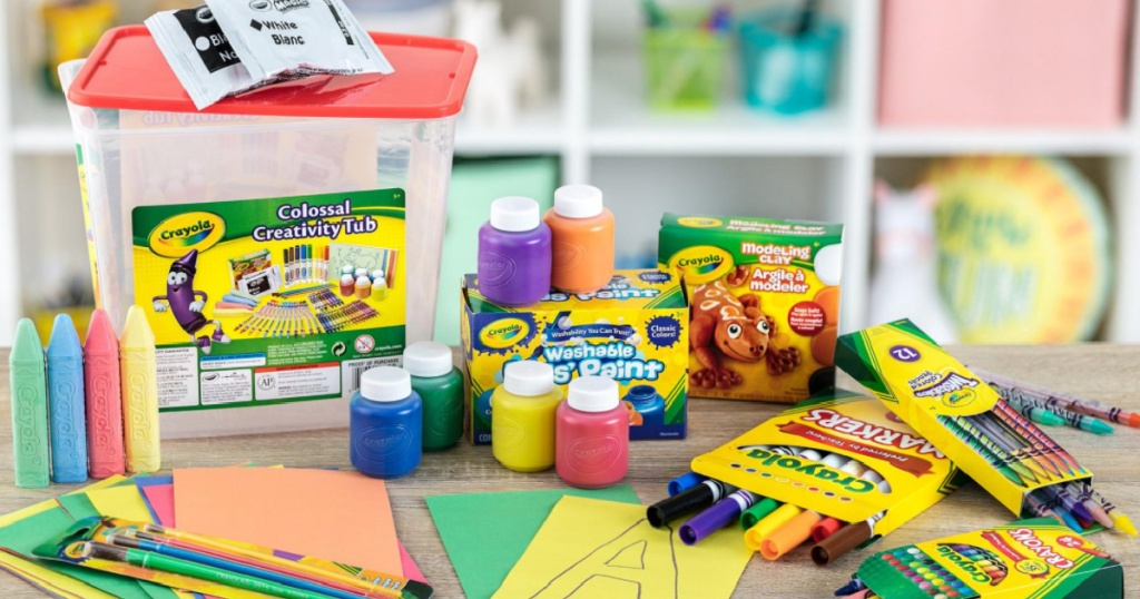 crayola activity set