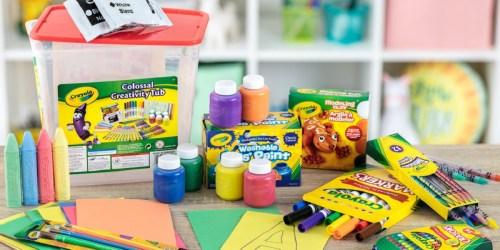 Crayola Art & Craft 90-Piece Tub Only $9.99 on Walmart.com (Regularly $20)