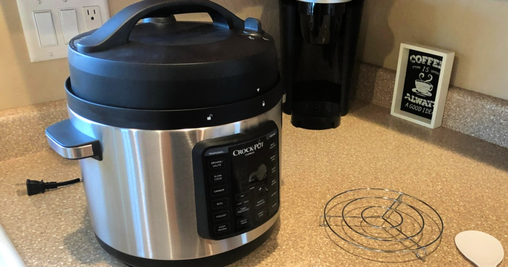 Crock-Pot Express 6-Quart Easy Release Stainless Steel Multi-Cooker