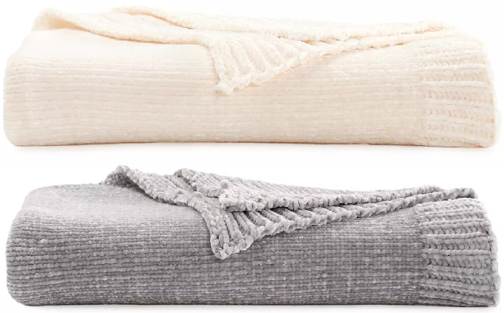 Cuddl Duds Live In Layers Chenille Throw