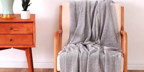 Cuddl Duds Chenille Throw Only $23.99 on Kohls.com (Regularly $60)