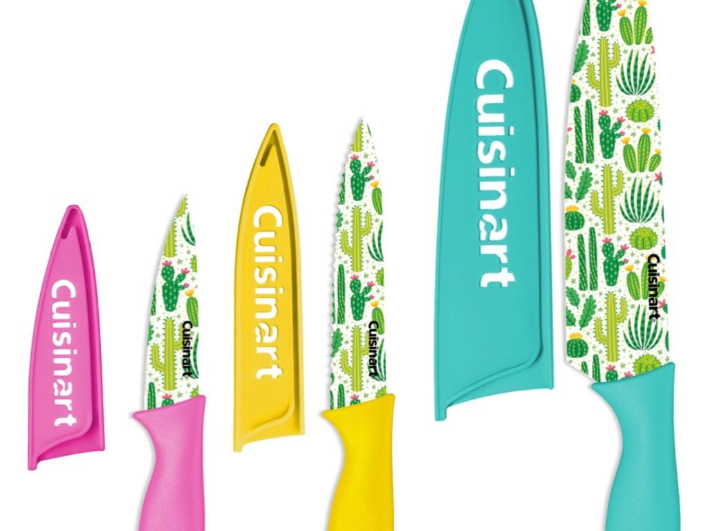 Cuisinart 6-Pc. Cactus Print Cutlery Set