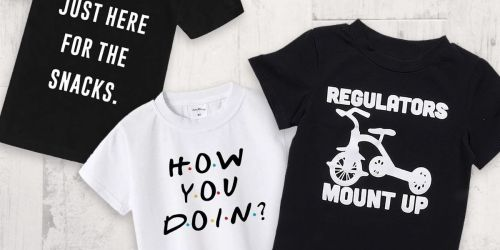 Funny Kids Graphic Tees Only $7.99 Shipped on Jane.com