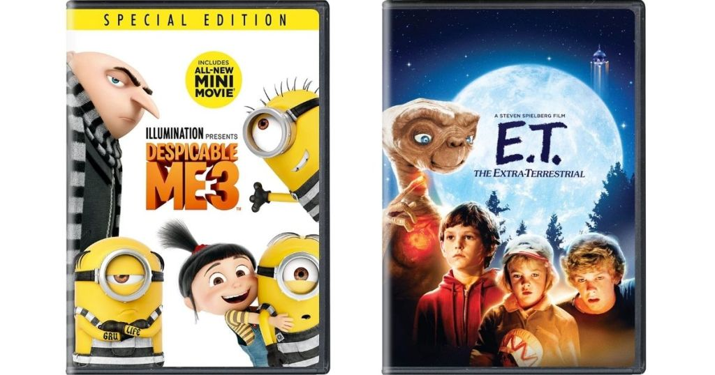 Despicable Me 3 and ET Movies