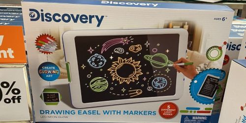 Discovery Kids Drawing Easel w/ Neon Markers Only $9 on Belk.com (Regularly $30)