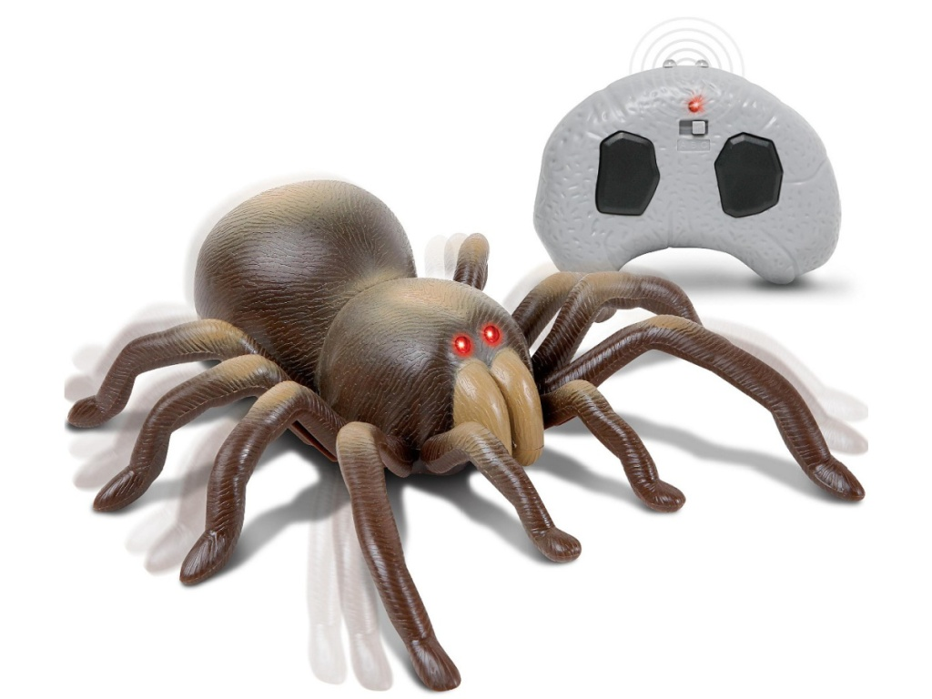 Remote control spider with remote