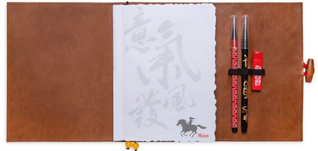 disney mulan journal