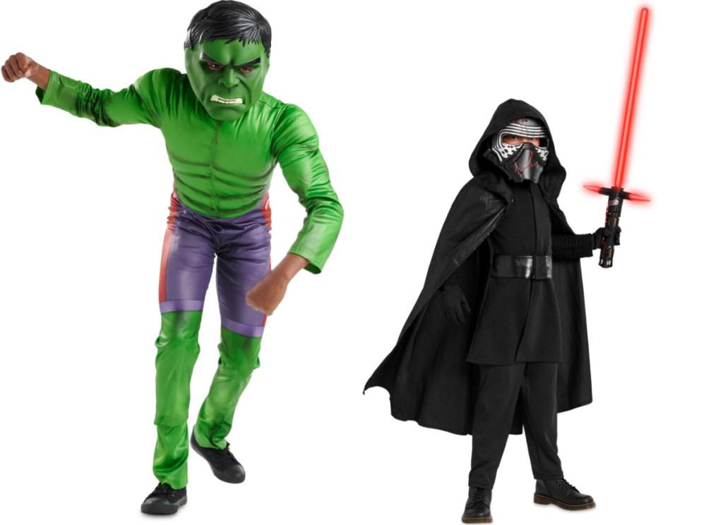 disney hulk and kylo ren costume for kids
