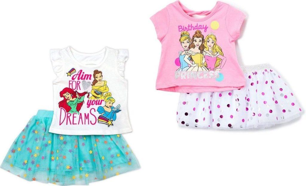 Disney Princess 2-piece tutu Sets