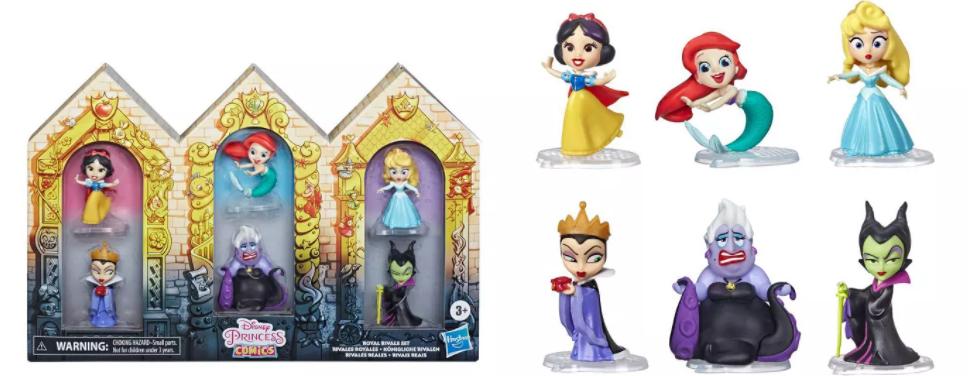 Disney princess and villains figures