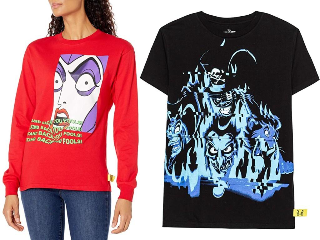 Disney Villains x Heidi Klum clothing