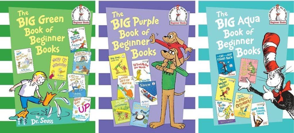 3 Dr Seuss Big Books