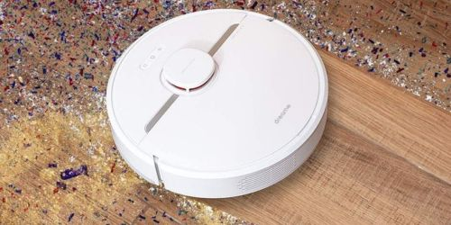 Smart Mapping Robot Vacuum Cleaner & Mop Only $219.99 Shipped on Amazon | Works w/ Alexa Too!