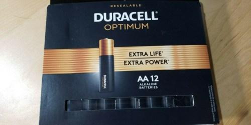 Free Duracell Batteries 12 & 18-Packs After Office Depot Rewards