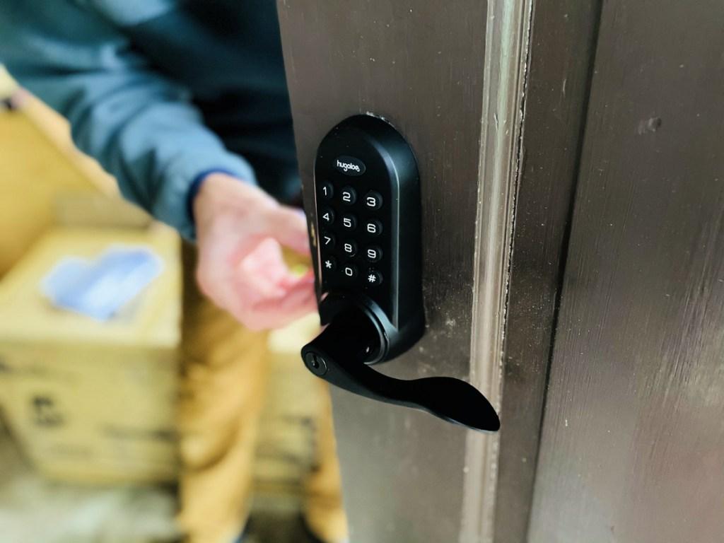 Electronic Latchbolt Door Lock with Keypad