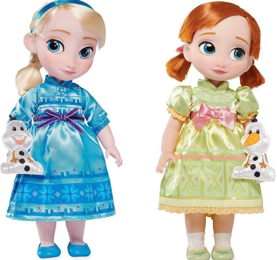 Disney Animator's Collection Elsa and Ana Dolls
