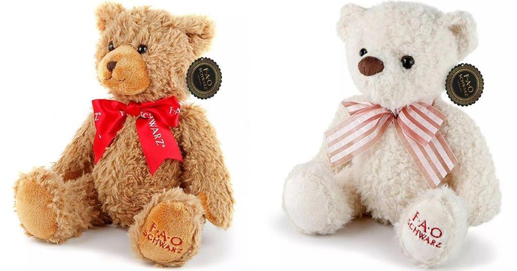 two plush bears