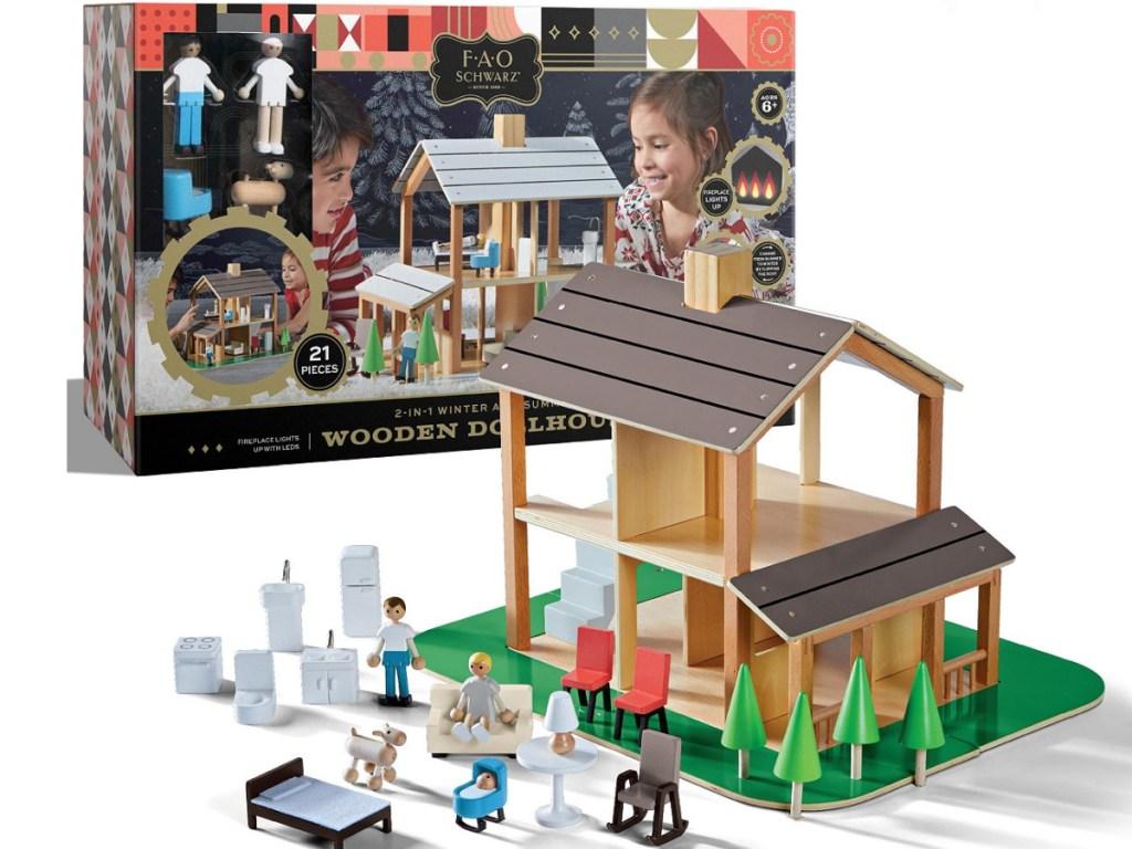 FAO Schwarz dollhouse