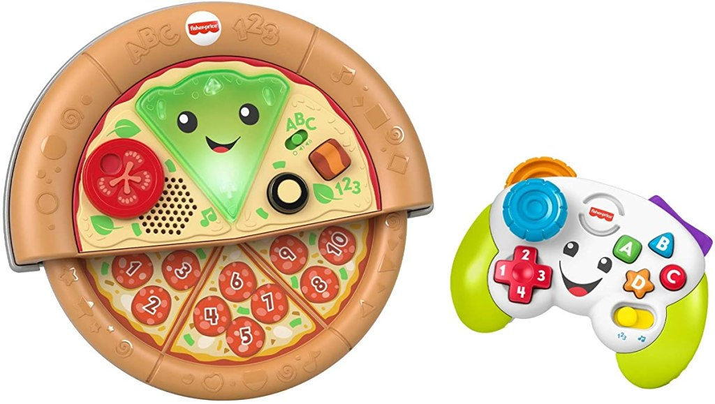 Fisher-Price Pizza and Game Controller