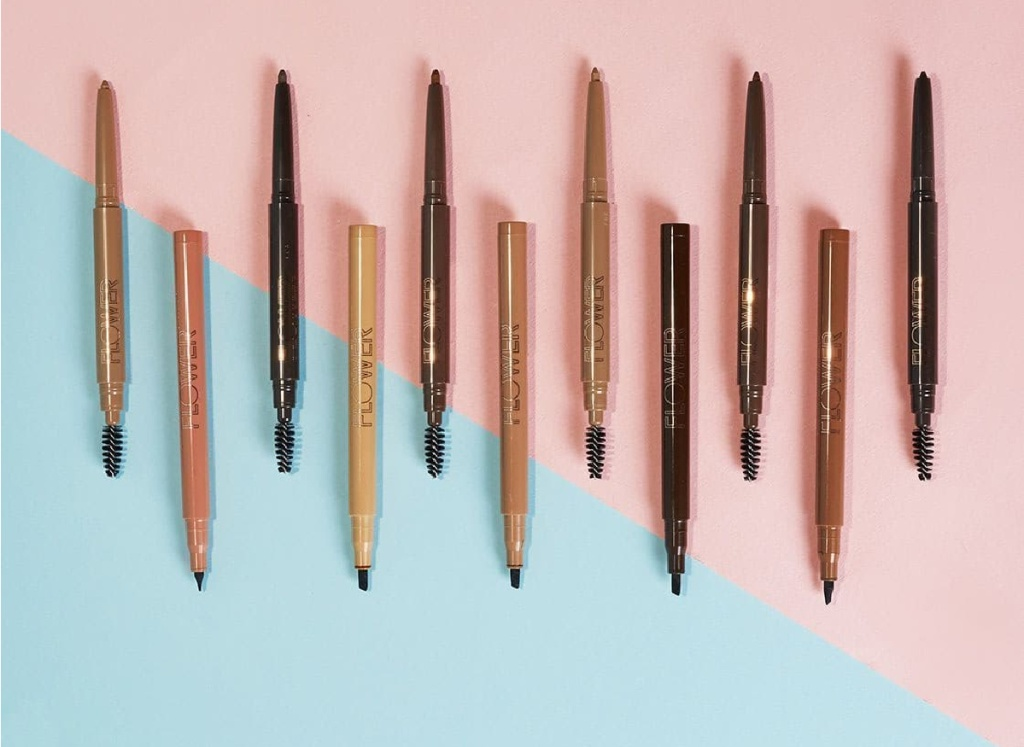 Variety of eyebrow pencils