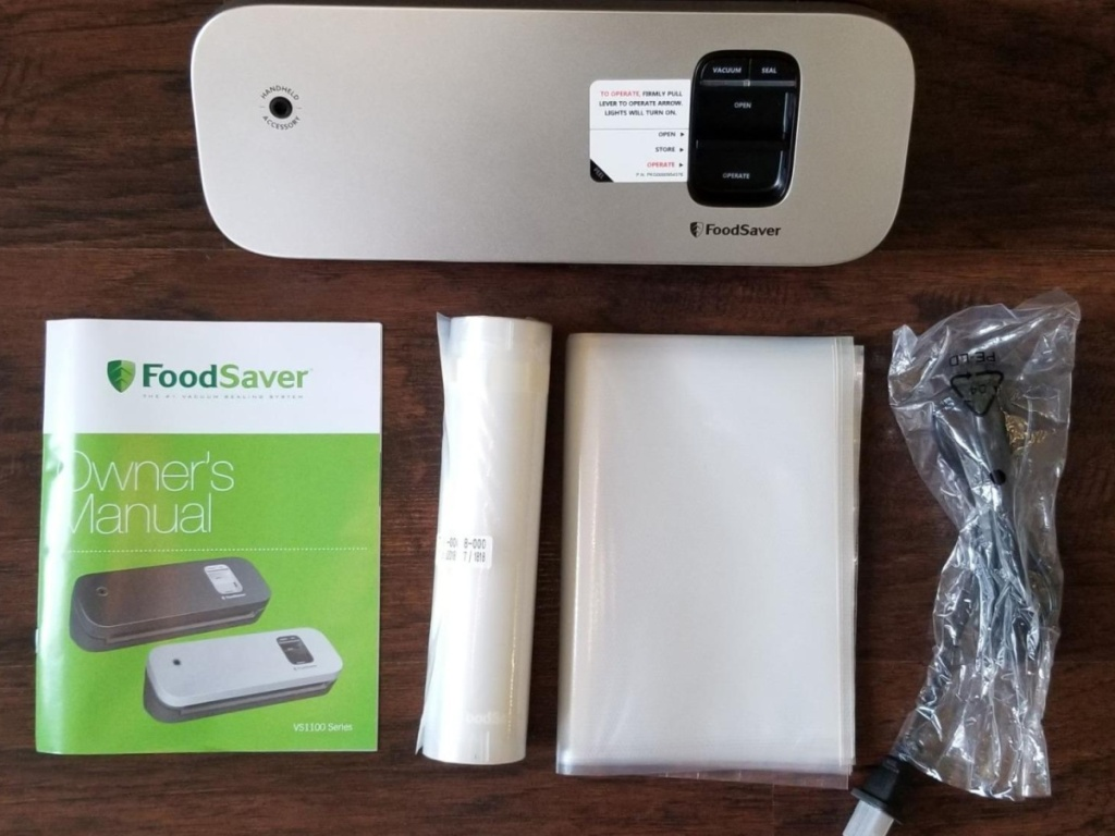 foodsave vacuum food sealer with accessories