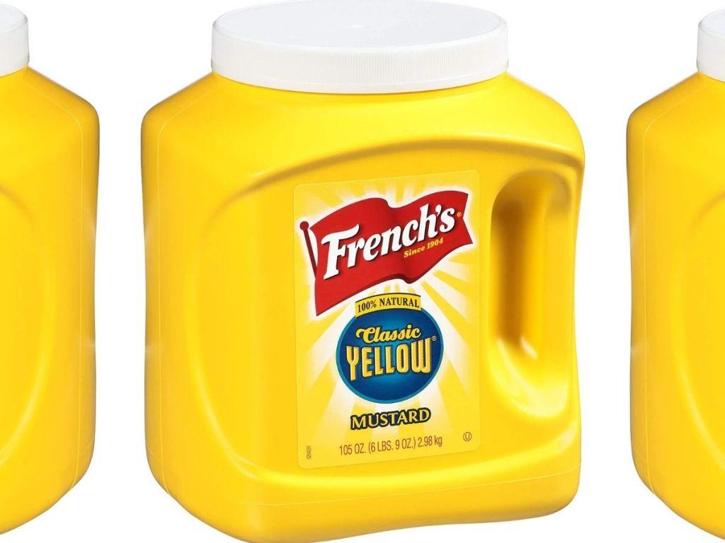 French's Yellow Mustard 105oz
