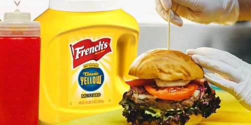 French's Classic Yellow Mustard 105oz Tub Only $3.37 Shipped on Amazon